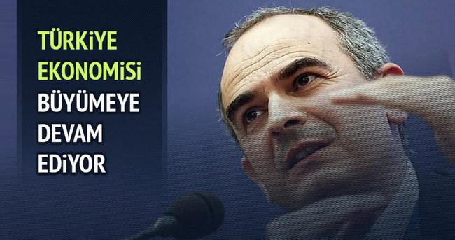 Türkiye ekonomisi büyümeye devam ediyor