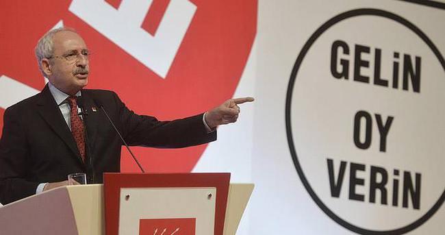 Kılıçdaroğlu CHP'nin seçim bildirgesini açıklayacak