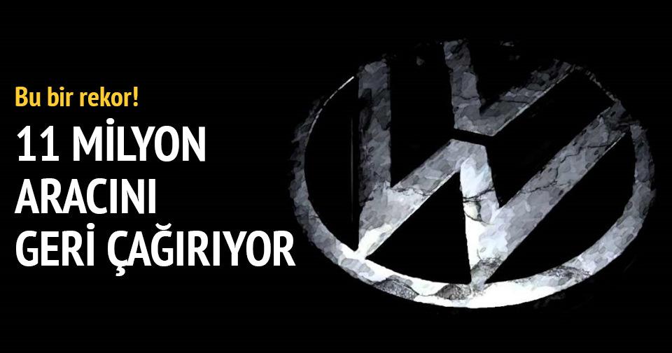 Volkswagen 11 milyon aracını geri çağırıyor!