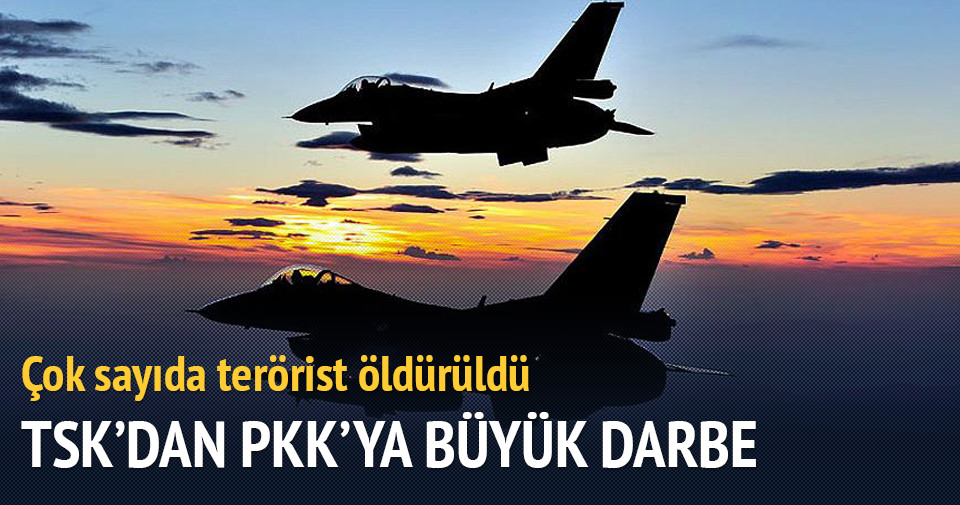 TSK'dan büyük operasyon: 25 terörist öldürüldü