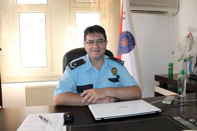 Kumluca İlçe Emniyet Müdürü Karaaslan Görevine Başladı