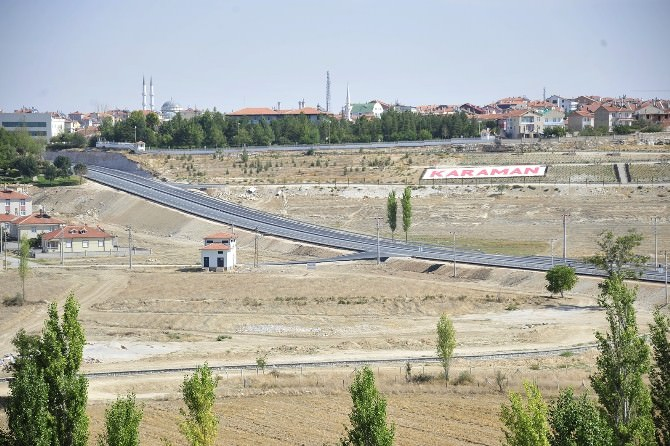 Karaman-mersin Köprülü Kavşağı Trafiğe Açıldı