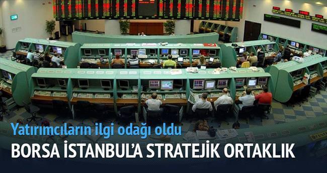 Borsa İstanbul'a stratejik ortaklık