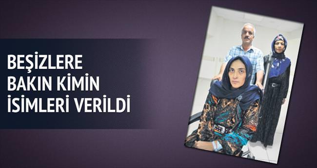 Beşizlere Erdoğan ailesinin adı verildi