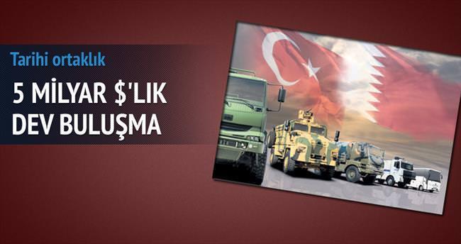 Türkiye ile Katar'dan dev buluşma