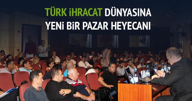 Türk ihracat dünyasında yeni bir pazar heyecanı
