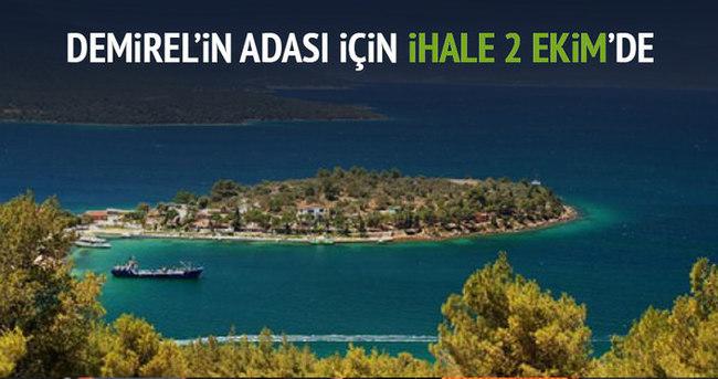 Murat Demirel'in adası için ihale 2 Ekim'de