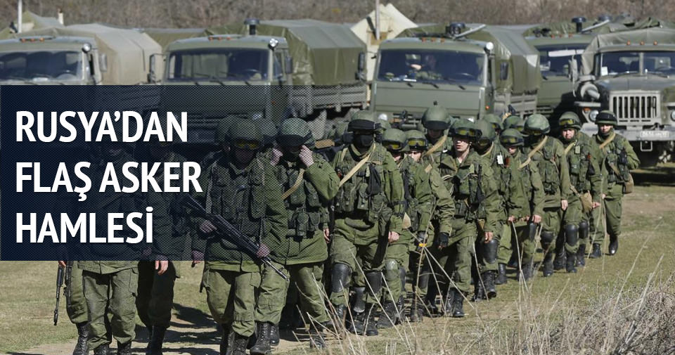 Rusya'dan yurtdışına asker hamlesi