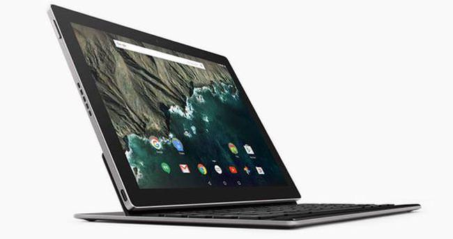 Google'dan üst seviye tablet Pixel C