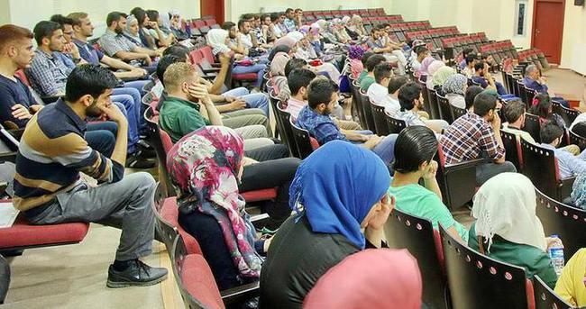 Üniversiteler yaklaşık 2 bin Suriyeli öğrenciye kapılarını açtı
