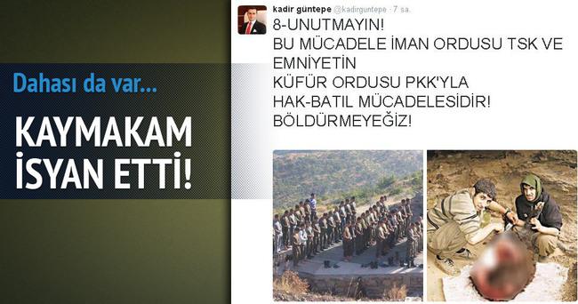 Kaymakam, PKK ve HDP'ye isyan etti!