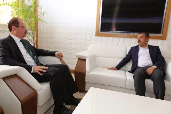 """Kavcıoğlu: """"Üniversitenin Büyümesi Demek, Bayburt'un Büyümesi Demek"""""""