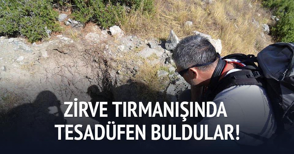 Zirve tırmanışında antik kent buldular!