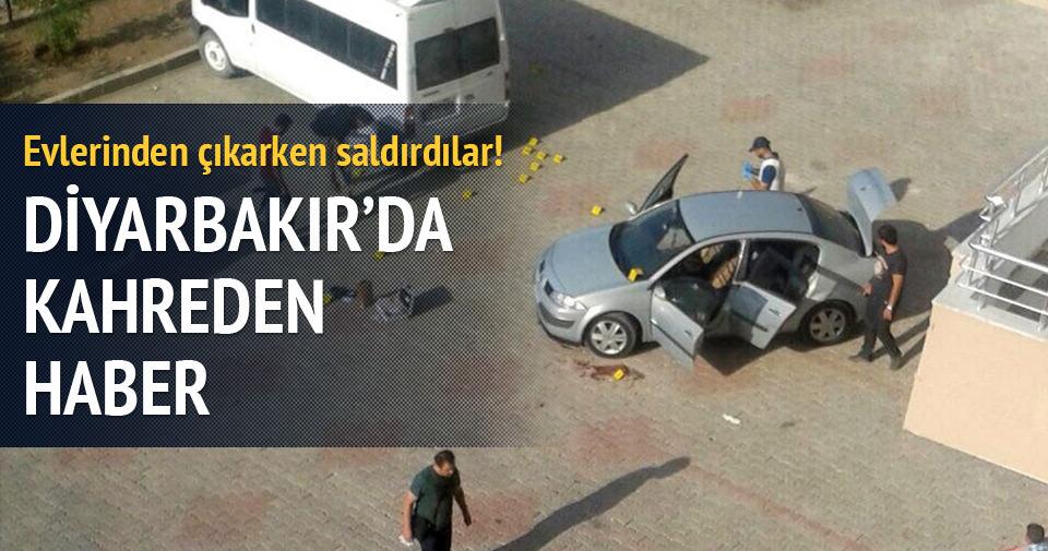 Diyarbakır'da hain saldırı...