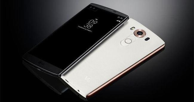 LG'den çift ön kameralı iki ekranlı telefon: V10
