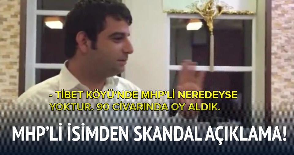 MHP'li adaydan skandal açıklama!