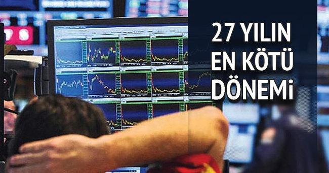 Gelişen piyasalara sermaye akışı 27 yıldan bu yana ilk kez negatif