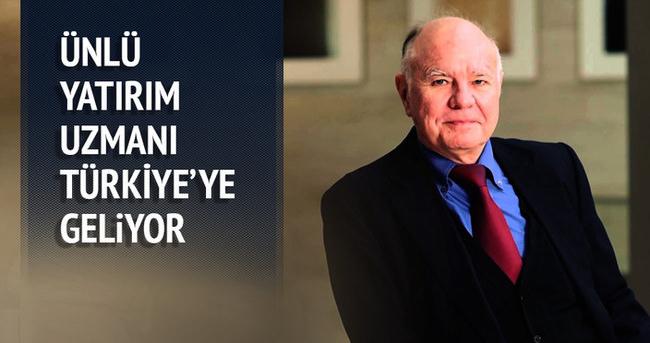 Marc Faber 15 Ekim'de İstanbul'a geliyor