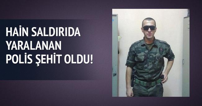 Cizre'deki hain saldırıda yaralanan polis şehit oldu