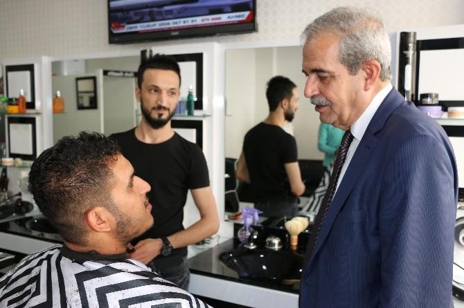 Başkan Demirkol'dan Esnaf Ziyareti