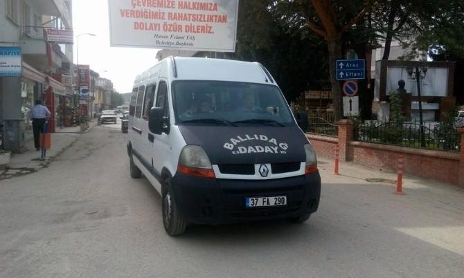 Daday'da Minibüs Ücretlerine Zam