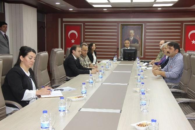 Giresun'da Seçim Güvenliği Toplantısı Yapıldı