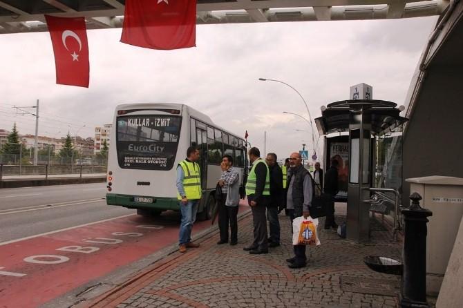 Kocaeli'de Otobüs Güzergahları Değiştirildi