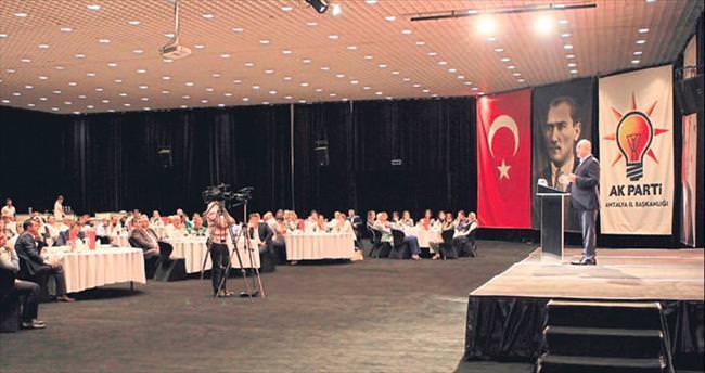 AK Parti tek yürek