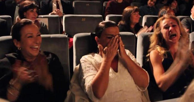 Perran Kutman'ı ağlatan sürpriz