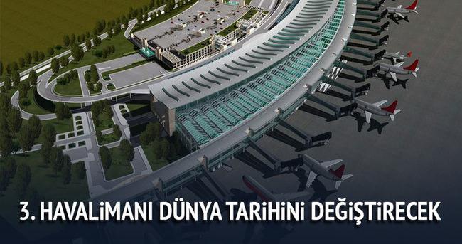 THY Genel Müdürü Temel Kotil ''Üçüncü havaalanı dünya tarihini değiştirecek''