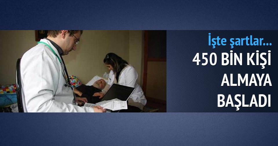450 bin kişi evde bakım aylığı alıyor