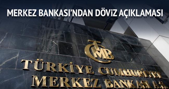 Merkez Bankası'ndan döviz talebi açıklaması