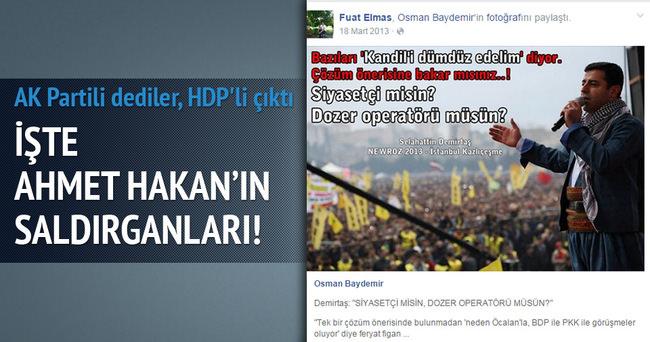 Saldırganlar HDP sempatizanı çıktı!