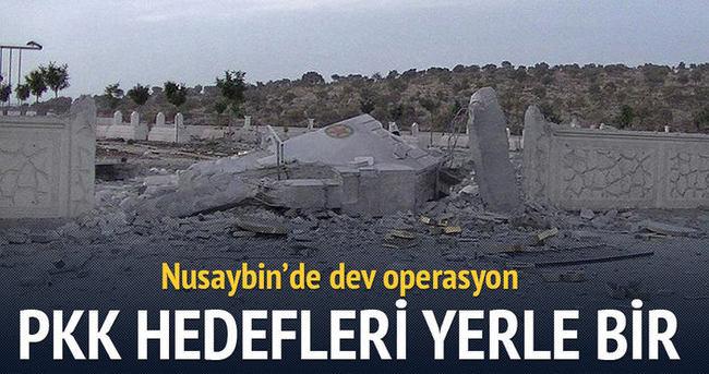 PKK hedefleri yerle bir