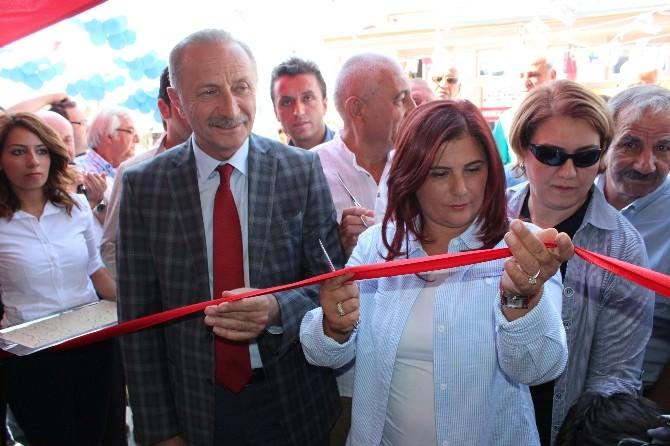 Akbük Yerel Hizmetler Merkezi'ni Başkan Çerçioğlu Açtı
