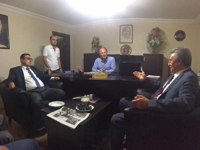 AK Parti'den Türkiye Gazetesi Ve İHA'ya Ziyaret