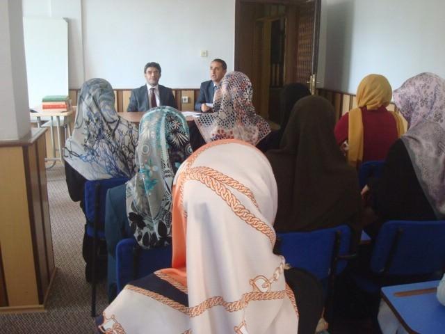 Müftü Geylani Kur'an Kursu Öğreticileriyle Toplantı Yaptı