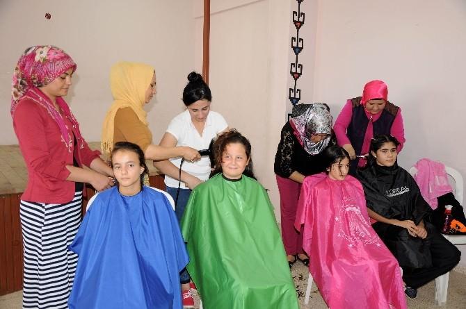 Halk Eğitimden Öğrenciye Ücretsiz Saç Bakımı (İstenirse Görüntü Vardır)