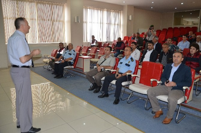 Soma'da, Okul Servis Şoförlerine Eğitim