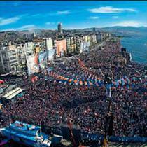 İzmir'de Gündoğdu mesaisi