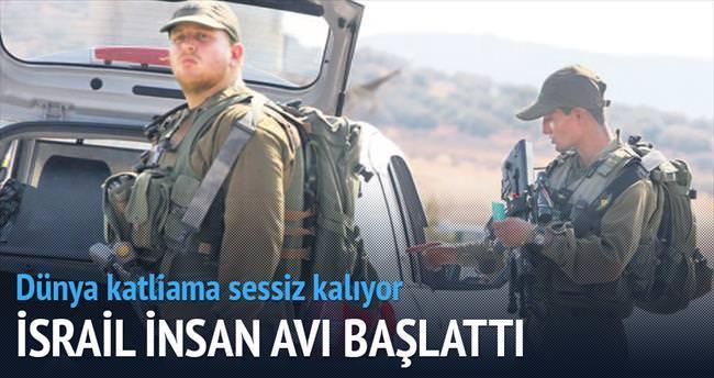 İsrail ordusu Nablus'ta insan avı başlattı
