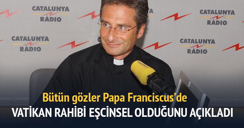 Vatikan'da görevli rahip eşcinsel olduğunu açıkladı