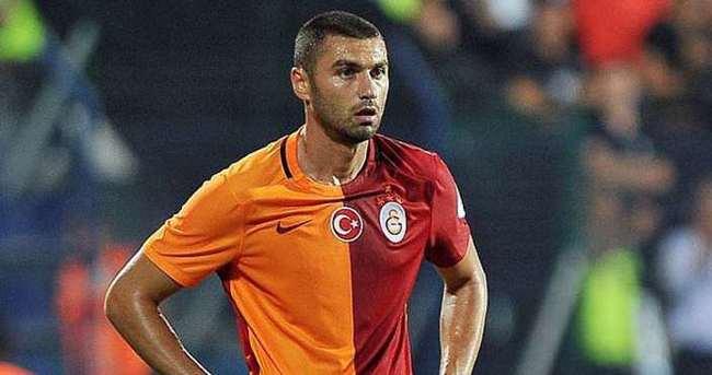 Galatasaray'da Burak Yılmaz sevinci