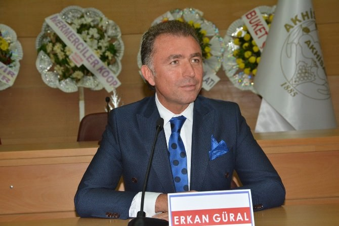 Tügik Başkanı Erkan Güral, Akhisar'da Tecrübelerini Paylaştı