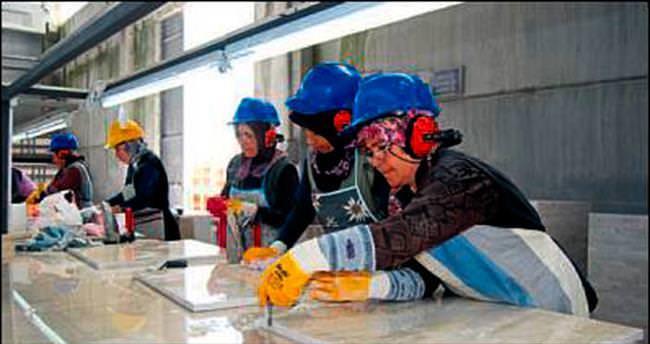 Burdur'da mermer ihracatı yükselişte