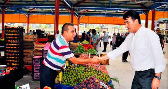 Osman gazi 'nin semt pazarlarına AVM konforu