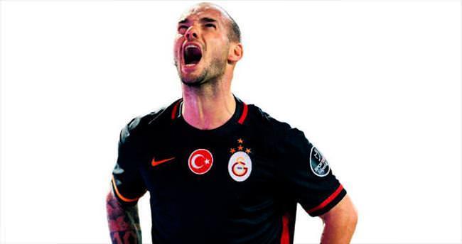 Ve Sneijder'de mutlu son