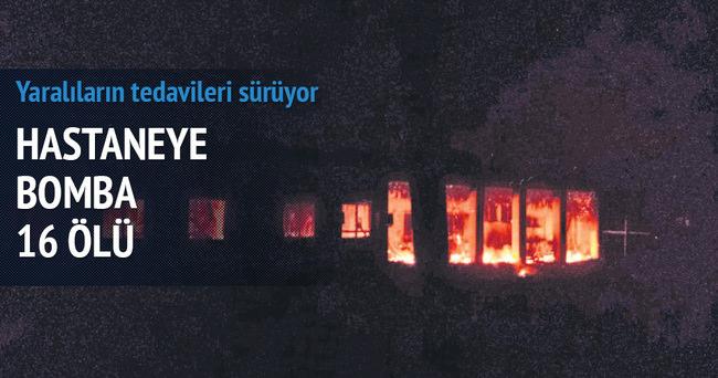 Hastaneye bomba