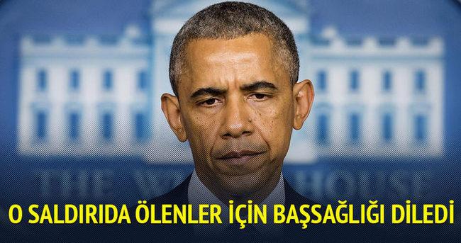 Obama Kunduz'da ölenler için başsağlığı diledi
