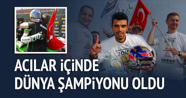 Kenan Sofuoğlu dünya şampiyonu!
